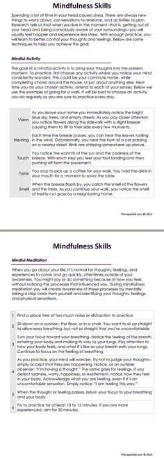 DBT Mindfulness Skills Preview                                                                                                                                                                                 More