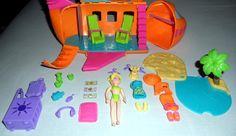 Polly Pocket Airplane Set