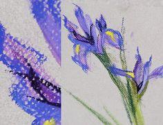 Art Journal - Цветочное настроение в школе Вероники Калачёвой