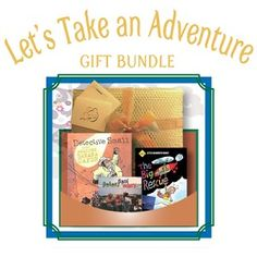 Let's Take an Adventure - 5 years and up - Who doesn't love a good adventure? This bundle is packed with lots of escapades and exciting rescues. Includes Detective Small in the Amazing Banana Caper (book), The Big Rescue (DVD) and Around the Campfire (CD). - $47.95