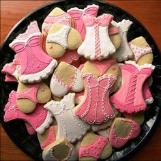 Sexy Decorated Biscuits - hearts as panties and bras