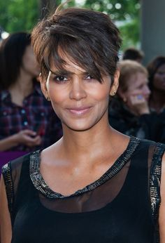 Halle Berry Short Hairstyles - Layered Razor Cut for 2015