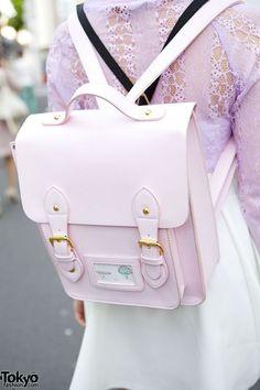 ❤Kawaii Love❤ ~this bag is super kawaii! | -=-Wish list-=- | Pinterest | Dream Wardrobe (‷\(> ᴥ <)/‴) | Pinterest