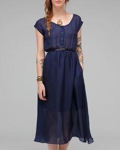 Dolce Vita Wynne Dress in Blue