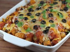 Yum... Id Pinch That! | Tater Tot Taco Bake