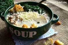 The Goldilocks Kitchen: Zuppa Toscana Soup