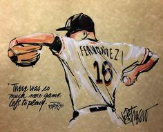 #restinpeace Jose Fernandez. So sad that you never got to finish the game. So much left to play. #RIP #marlins #miami #josefernandez #mlb #miami #ripjose