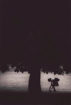 Girl and Tree by Michael Crouser