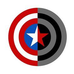 Captain America-Bucky Barnes Logo