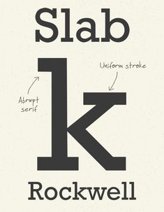 A History of Typeface Styles & Type Classification