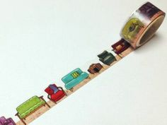 Sofa - Round Top Yano Design, Natural Vol.2 - Colorful Furniture - Japanese Washi Masking Tape - Kawaii Collage, Gift Wrapping - JapanLovelyCrafts