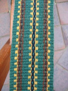 Inkle woven musket band for mountain men. Click to see more bands on the blog.
