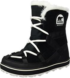 The Sorel Women's Glacy Explorer Shortie Snow Boot are very stylish and comfortable boot.  They are very comfortable to walk in and they will keep your feet warm and dry.  This shortie snow boot has a fleece lining and a fleece topcover to keep your feet nice and warm.