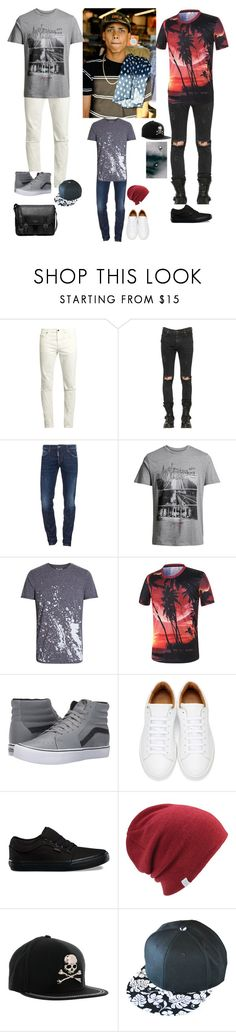 """Gabriel"" by manniegk ❤ liked on Polyvore featuring Yves Saint Laurent, RtA, Dsquared2, Jack & Jones, Vans, Marc Jacobs, Coal, Philipp Plein, Michael Kors and men's fashion"