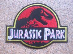 Next-Free-Shipping-Jurassic-Park-Patch-Badge-8-6x11-6-cm-3-5-x4-5