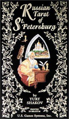 Russian Tarot of St. Petersburg: 78-Card Deck by Yury Shakow https://www.amazon.com/