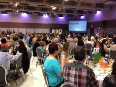A full house at Inclusion Alberta's Changing Lives, Changing Communities Breakfast