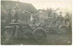 military motorcyclists ww1. Russia