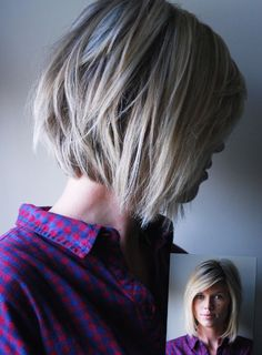 Got my hair cut like this...hoping it goes well with my I-don't-do-hair philosophy!