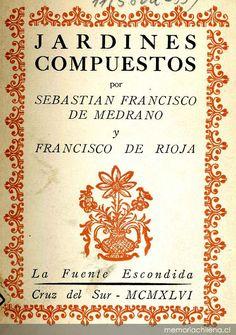 Sebastian F. de Medrano y F. de Rioja: Jardines compuestos.