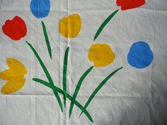 Marimekko Flower Full Size Bed Sheet