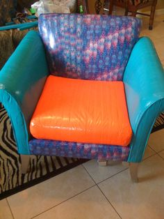 Duck Tape chair - great way to let the kids be creative - very cool