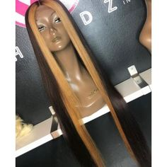Ulovewigs Human Virgin Hair ombre bob Pre Plucked Lace Front Wig &Full Lace Wig For Black Woman Free Human Hair Lace Wigs, Remy Human Hair, Hair Wigs, Human Wigs, Curly Wigs, Curly Hair Styles, Natural Hair Styles, Blonde Streaks, Blonde Wig