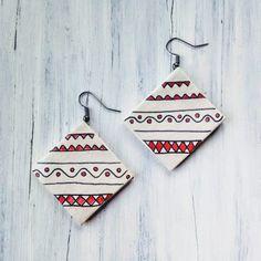 Cercei « Categorii de Produse « Mărgelușa Clay, Christmas Ornaments, Holiday Decor, Earrings, Handmade, Home Decor, Clays, Ear Rings, Stud Earrings