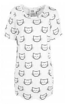 cats tee dress $59