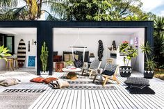 outdoor rooms australia \ outdoor rooms - outdoor rooms on a budget - outdoor rooms with fireplace - outdoor rooms covered - outdoor rooms attached to house - outdoor rooms patio - outdoor rooms bohemian - outdoor rooms australia Outdoor Rooms, Outdoor Living, Outdoor Decor, Indoor Outdoor, Exterior Design, Interior And Exterior, Interior Architecture, Design Interior, Interior Modern