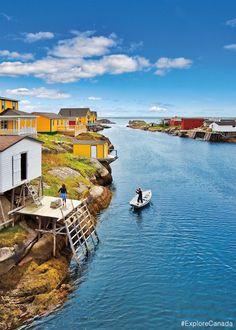 Newtown [New-Wes-Valley, Newfoundland & Labrador, Canada] Alberta Canada, O Canada, Canada Travel, Best All Inclusive Honeymoon, Best Honeymoon Destinations, Quebec, Newfoundland Canada, Newfoundland And Labrador, Nova Scotia