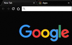 Google Backgrounds, Google Chrome Web Browser, Wallpaper App, My Themes, Chromebook, Aesthetic Black, Dark, Extensions, Sew In Hairstyles