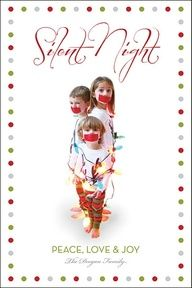Silent Night... Christmas photo funny picture