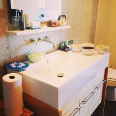 The homemade organic face masks and body scrub station