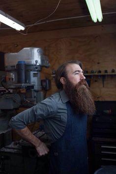 Long (semi) red beard