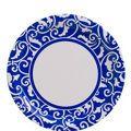 royal blue dinner plates