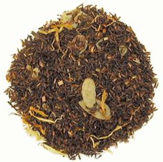 Bourbon St Vanilla Rooibos from English Tea Store - Sweet vanilla and almonds. It's a good tea for when I'm too lazy to make dessert.