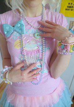 ♡ ♥ ロリータ, Deco Lolita, Loli, Fairy Kei, Pastel, Kawaii Fashion, Cute, Sweet Lolita, Pop Kei ♥ ♡