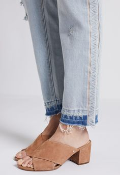 THE SLOUCHY SKINNY WITH SIDE INSERT