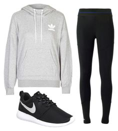 """""""Untitled #272"""" by sofieb02 on Polyvore featuring Topshop, adidas, NIKE, women's clothing, women, female, woman, misses and juniors"""