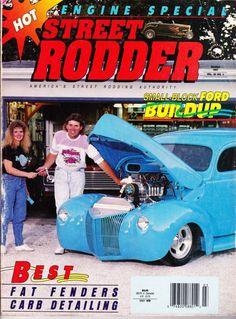 Street Rodder Magazine March 1991 - Engine Special