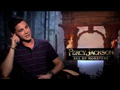 Logan Lerman Interview: PERCY JACKSON 2: SEA OF MONSTERS  Percy Jackson 3??  It is called the Titan's Curse!