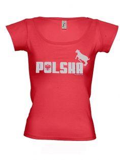 Marek Fis T-Shirt POLSKA f.Frauen