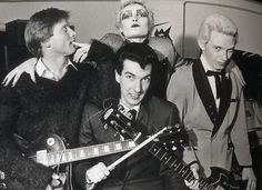 """Siouxsie and the Banshees were an English rock band formed in London in 1976 by vocalist Siouxsie Sioux and bass guitarist Steven Severin. Initially associated with the English punk rock scene, the band rapidly evolved to create """"a form of post-punk discord full of daring rhythmic and sonic experimentation""""."""