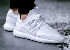 adidas Tubular Radial 'Crystal White' (via Kicks-daily.com)