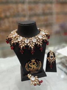 Kundan Jewellery Set, Jewelry, Punjabi Traditional Jewellery, Bridal Chura, My Etsy Shop, Handmade Items, Brooch, Check, Jewlery