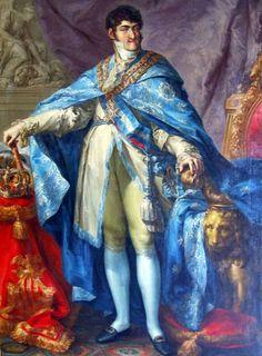 Portrait of King Ferdinand VII of Spain (1784-1833), by Vicente López y Portaña (1772–1850)