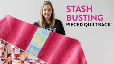Angela Walters pieces the back of her Twinkling Twilight quilt using leftover scraps. Longarm Quilting, Quilting Tips, Quilting Tutorials, Machine Quilting, Quilting Designs, Backing A Quilt, Quilt Border, Midnight Quilt Show, Walking Foot Quilting