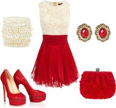 """""""Christmas Party"""" by leslie-giaudrone-berends on Polyvore"""