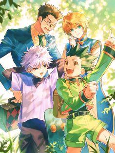 Manga Anime, Me Anime, Anime Kawaii, I Love Anime, Anime Guys, Manga Art, Hunter X Hunter, Hunter Anime, City Hunter